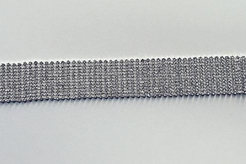 Wide Chrystal CHOKER Necklace