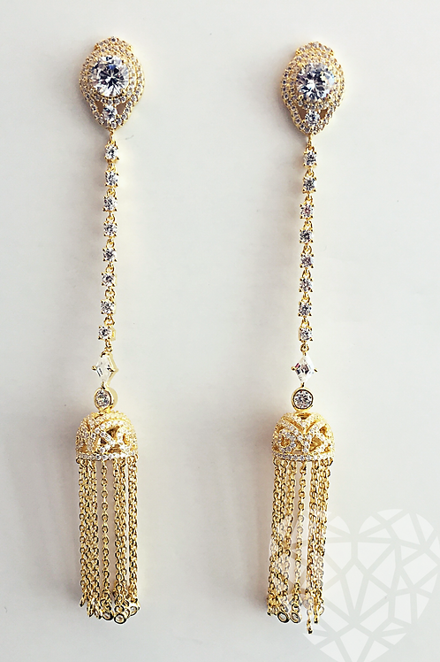 Janet Tassel Earrings