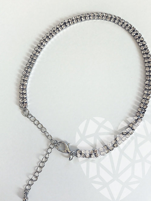 CHOKER Necklace-Double Row