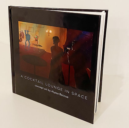A Cocktail Lounge in Space Book