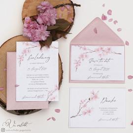 Kirschblüten Set