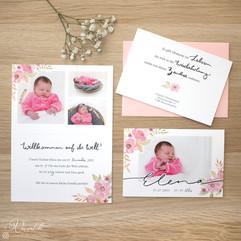 Babykarte Mädchen