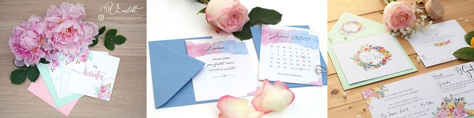 Etsy Banner Juni 2020 Hochzeitseinladung Voiverliebt Papeterie
