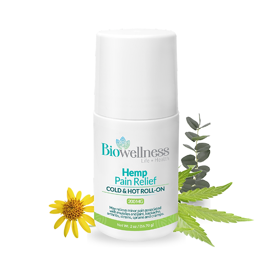 Hemp Pain Relief Cold & Hot Roll-on
