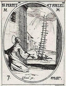 St. Perpetua and the Ladder