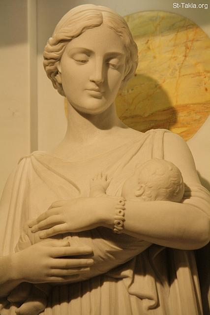 Statue of St. Perpetua and her Child
