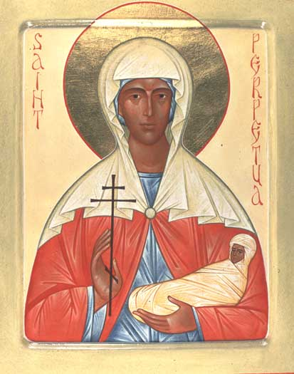 Icon of St. Perpetua