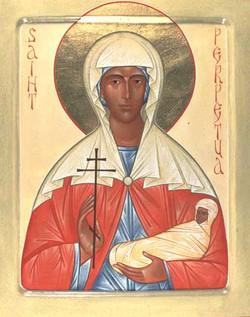 Icon of St. Perpetua