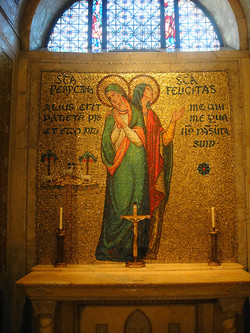 Mosaic of Sts. Perpetua and Felicity
