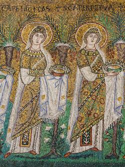 Mosaic from Saint Apollinare Nuovo