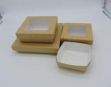 Boîtes carton, coffrets repas, boites cadeau, boites salade