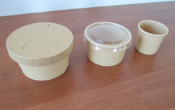 Paper portion cups