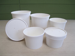 Soup cups and lids