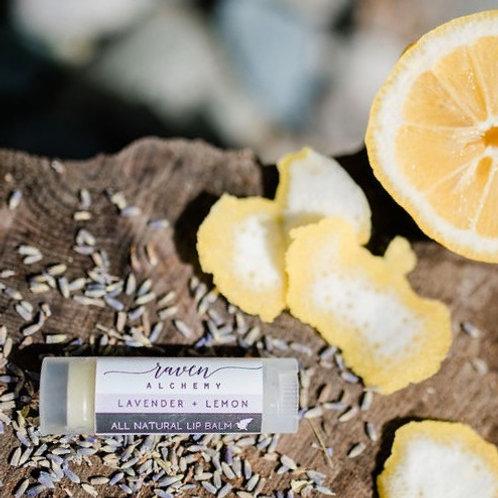 All Natural Lavender & Lemon Lip Balm