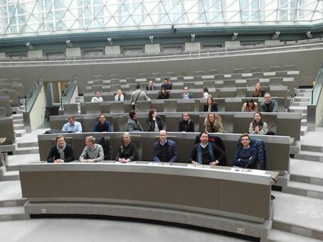 Bezoek aan Vlaams Parlement en BIV