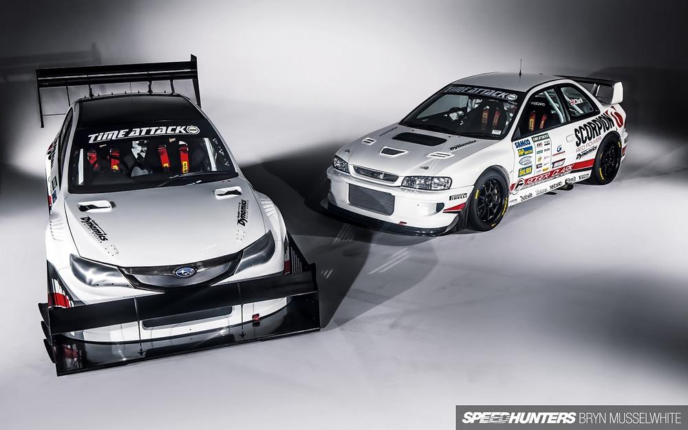 GoodFabs Subaru exhausts Gobstopper I and II Roger Clark Motorsport