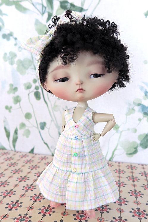 Plaid Dress  - BULBI