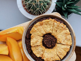 CHICKPEA BAKED CHOCOLATE OATS