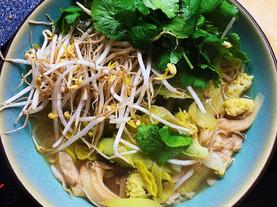 super easy and delicious Vietnamese noodle soup
