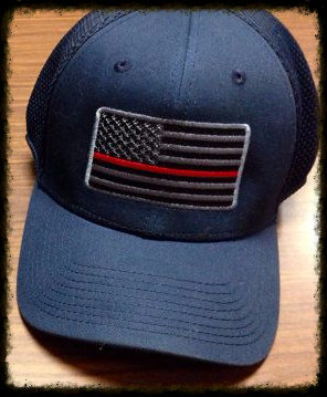 Thin Red Line Flag Flexfit Hat