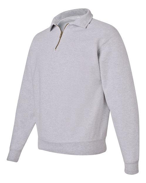 1/4-Zip Sweatshirt with Cadet Collar