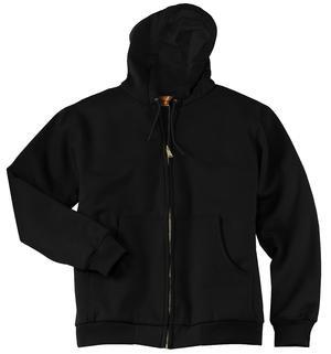 Heavyweight Full-Zip Hooded Sweatshirt with Therma