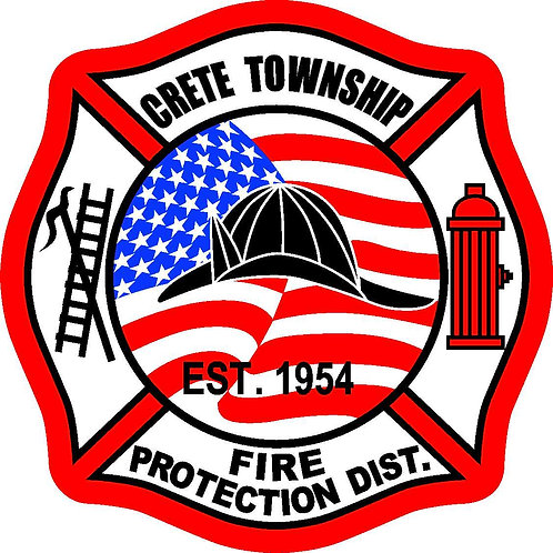 Reflective CTFD Window Decal