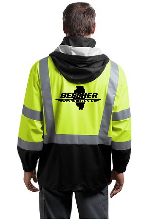 ANSI 107 Class 3 Safety Windbreaker.