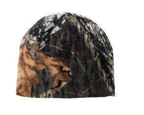 Port Authority® Camouflage Fleece Beanie.