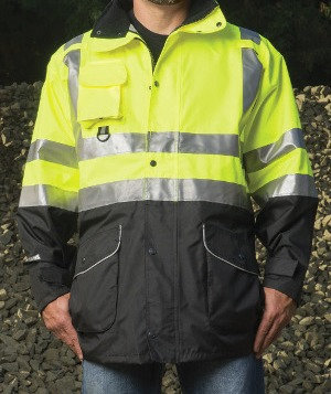 The Black Bottom 6 in 1 Class 3 Parka