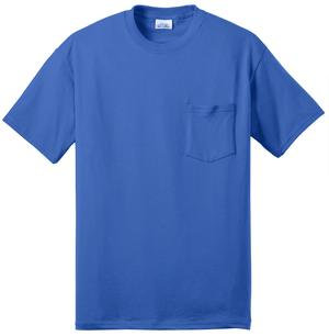 Short Sleeve Sleeve T-Shirt with Pocket