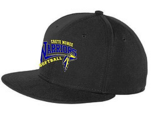 Softball New Era Flat Bill Cap