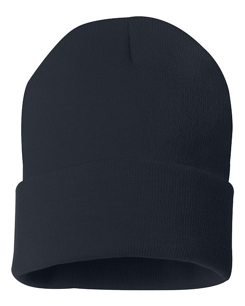 Fold Over Knit Beanie Cap