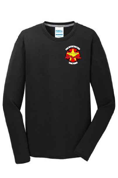 Long Sleeve Performance Blend Tee. PC381LS