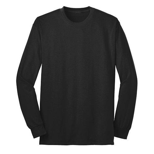 A Better Door Long Sleeve 50/50 Cotton/PolyT-Shirt