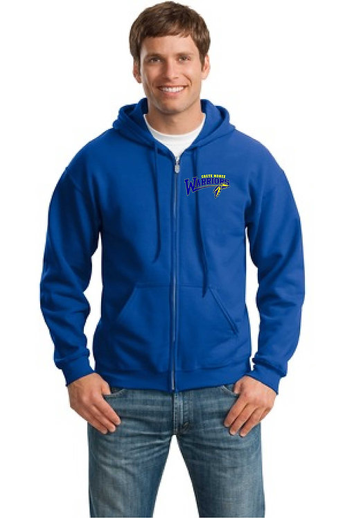 Warriors Zip-Up Hoodie