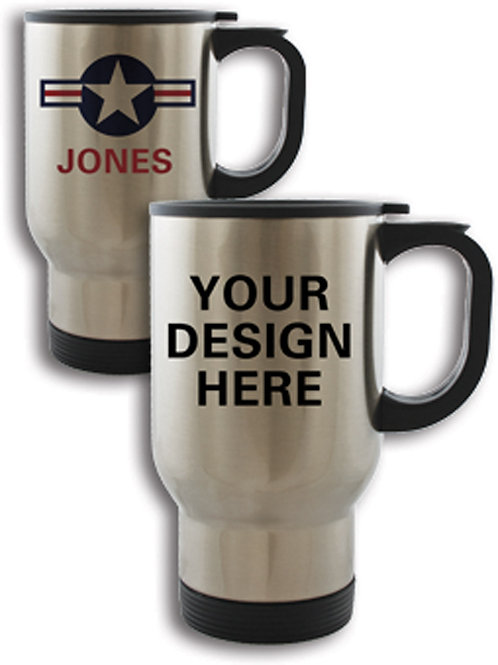 Stainless Steel Travel Mug - 12 - 23 mugs