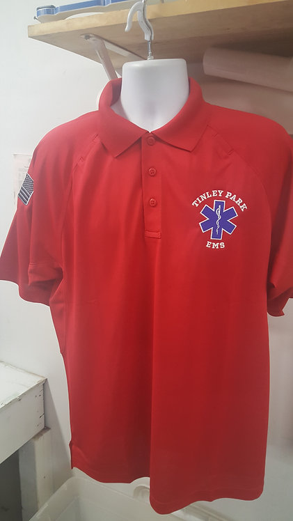 Support our Troops Red Tactical Polo