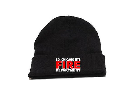 SCHFD Fold Over Knit Beanie Cap