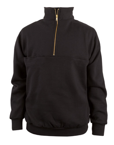 870-T Zip Turtleneck