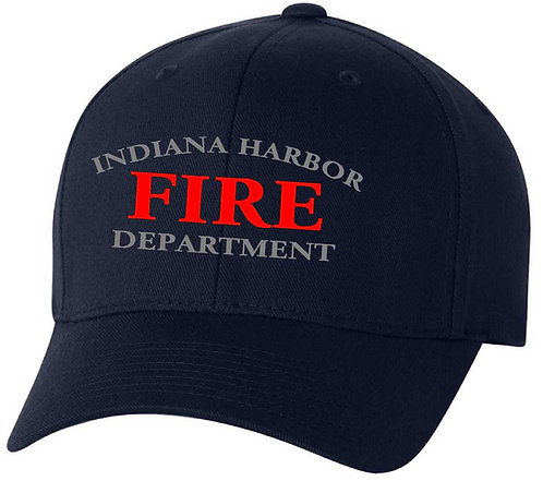 Indiana Harbor Fire Fitted Baseball Hat
