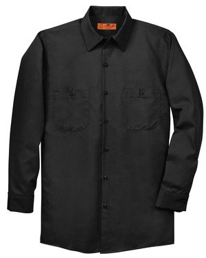 Red Kap® - Long Sleeve Industrial Work Shirt