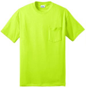 50/50 Cotton/Poly T-Shirt with Pocket