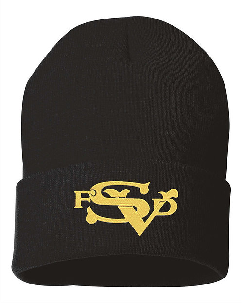 SVFD Fold Over Knit Beanie Cap