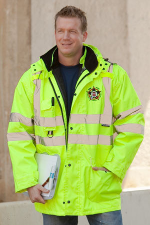6-in-1 Hi-Vis Jacket