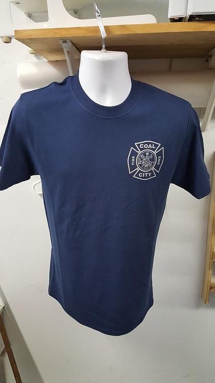 Coal City Fire Reflective Short Sleeve T-shirt