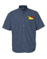 Acme Cotton Denim Short Sleeve Shirt