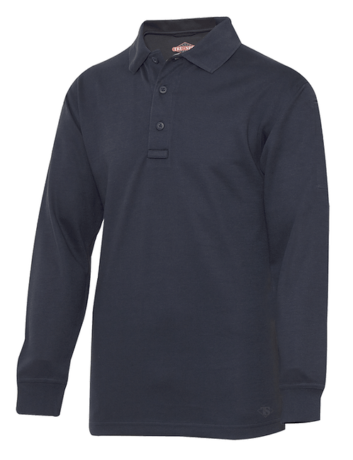 Coal City Fire Long Sleeve Polo Shirt