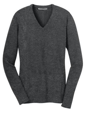 Ladies V-Neck Sweater 60/40 cotton/nylon