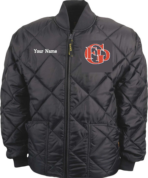 GFD Waffle Jacket Includes Left Chest Logo